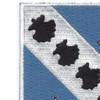 302nd Infantry Regiment Patch | Upper Left Quadrant