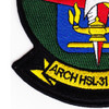 HSL-31 Patch Arch Angels | Lower Left Quadrant