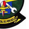HSL-31 Patch Arch Angels | Lower Right Quadrant