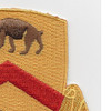 301st Cavalry Regiment Patch | Upper Right Quadrant