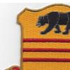 308th Cavalry Regiment Patch | Upper Left Quadrant