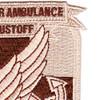 498th Aviation Medical Company Air Ambulance Dustoff Patch   Upper Right Quadrant