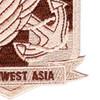 498th Aviation Medical Company Air Ambulance Dustoff Patch   Lower Right Quadrant