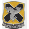 310th Cavalry Regiment Patch Fidelis