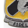 310th Cavalry Regiment Patch Fidelis | Lower Left Quadrant