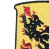 81st Airborne Anti-Aircraft Artillery Battalion Patch   Upper Left Quadrant