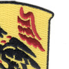 81st Airborne Anti-Aircraft Artillery Battalion Patch   Upper Right Quadrant