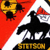 4th Battalion 3rd Aviation Cavalry Regiment S Troop Patch - Stetson | Center Detail