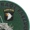 101st Airborne Division 2003 Patch | Upper Right Quadrant
