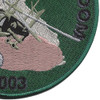 101st Airborne Division 2003 Patch | Lower Right Quadrant