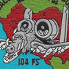 104th Fighter Squadron A-10 Patch - Just Got Ugly | Center Detail