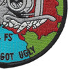 104th Fighter Squadron A-10 Patch - Just Got Ugly | Lower Right Quadrant