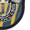 12th Special Forces Group Flash W/Crest Patch | Lower Right Quadrant