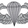 Airborne Basic Jump Wings Badge 5 inch Patch | Center Detail