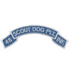 48th Infantry Platoon Scout Dog Scroll Vietnam Patch