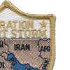 Operation Desert Storm Map Patch | Upper Right Quadrant