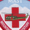 571st Aviation Medical Company Air Ambulance MAST Patch | Center Detail