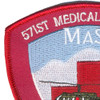 571st Aviation Medical Company Air Ambulance MAST Patch | Upper Left Quadrant