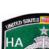 High Altitude Low Opening Parachutist MOS Patch Master HALO | Upper Left Quadrant