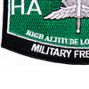 High Altitude Low Opening Parachutist MOS Patch Master HALO | Lower Left Quadrant