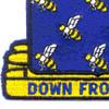 485th Infantry Regiment Patch | Lower Left Quadrant