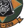 VAQ-209 Carrier Tactical Electronics Warfare Squadron Patch | Lower Right Quadrant