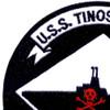USS Tinosa SS-283 Patch Version A | Upper Left Quadrant