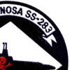 USS Tinosa SS-283 Patch Version A | Upper Right Quadrant