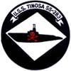 USS Tinosa SS-283 Patch Version A