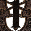 1st Special Forces Group Crest OD Green Patch | Center Detail