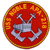 USS Noble APA-218 Patch