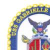 USS Gabrielle Giffords LCS 10 Littoral Combat Ship Patch | Upper Left Quadrant