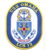 USS Omaha LCS 12 Littoral Combat Ship Patch