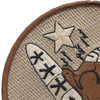 157th Fighter Squadron Patch   Upper Left Quadrant