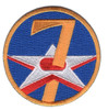 7th Air Force Shoulder Patch
