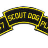 47th Infantry Scout Dog Platoon Patch | Center Detail