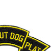 47th Infantry Scout Dog Platoon Patch | Upper Right Quadrant