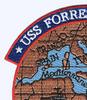 USS Forrestal CV-59 Med. Cruise 1978 Patch | Upper Left Quadrant