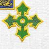 47th Infantry Regiment Patch   Center Detail