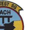 4786 Test Squadron Patch | Upper Right Quadrant