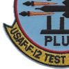 4786 Test Squadron Patch | Lower Left Quadrant