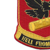 472nd Airborne Field Artillery Battalion Patch Hell From Above   Lower Left Quadrant
