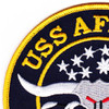 MSO-511 USS Affray Mine Sweeper - Ocean Ship Patch | Upper Left Quadrant