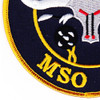 MSO-511 USS Affray Mine Sweeper - Ocean Ship Patch | Lower Left Quadrant