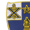 46th Infantry Regiment Patch | Upper Left Quadrant