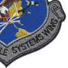 USAF Air to Air Missile Systems Wing Patch | Lower Right Quadrant