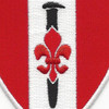 46th Engineer Battalion Patch Steel Spike | Center Detail