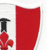 46th Engineer Battalion Patch Steel Spike | Upper Right Quadrant