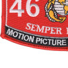 4671 Motion Picture Cameraman MOS Patch | Lower Left Quadrant
