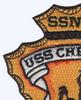 USS Cheyenne SSN-773 Patc